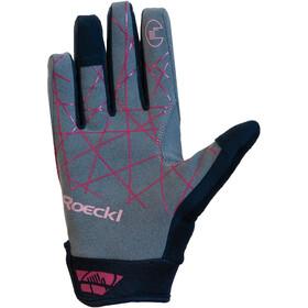 Roeckl Mals Handschoenen, dark red